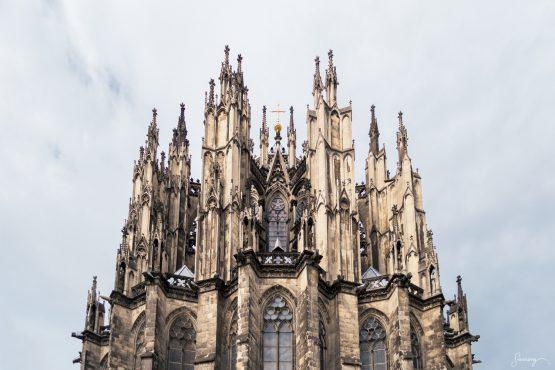 Kölnerdomens absid – fotografi av Sanning Arkitekter