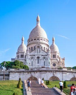 Basilique du Sacré-Coeur – fotografi av Sanning Arkitekter