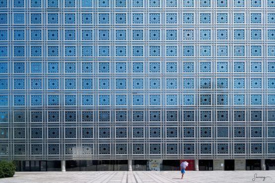 Le monde n'est pas carré – fotografi av Sanning Arkitekter