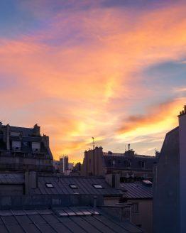 Parisisk gryning – fotografi av Sanning Arkitekter