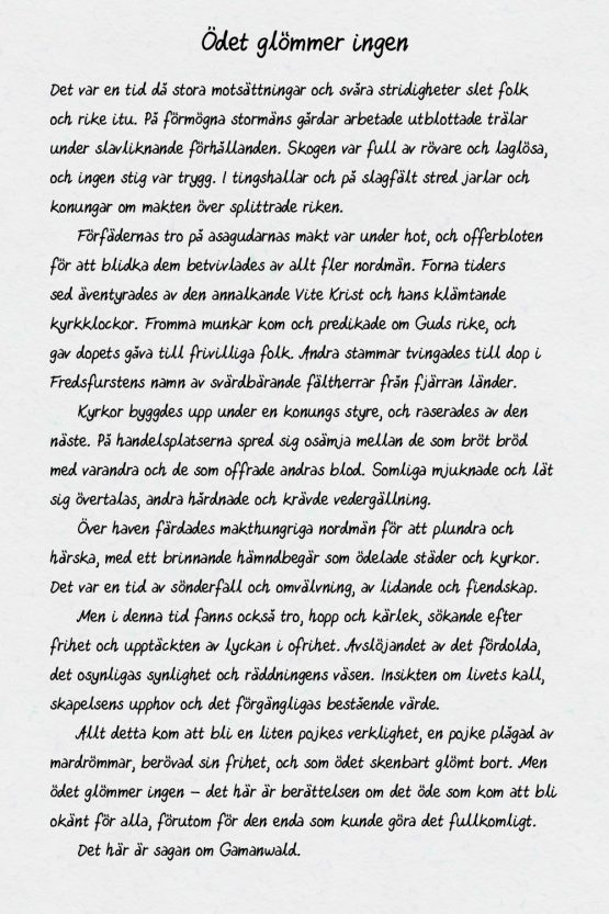 Typsnitt – aifosHandwriting – exempeltext