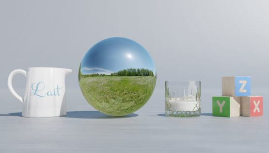 HDRI – Maskrosfält (sommar, middag) – stilleben utan horisont (EV 12.25; Filmic Blender)