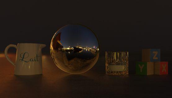 HDRI – Galärvarvet (sommar, midnatt) – stilleben utan horisont (EV -0.85; Filmic Blender)