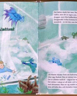 Lill-Manne & färgofonen – Sofia Sanning, Hessel Syhlén – Turkosa toaletten