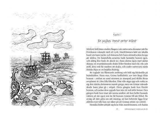Sagan om Gamanwald – Skuggvättarnas välsignelse – Hessel Syhlén, Sofia Sanning – Kapitel I:s början