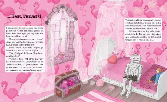 Lill-Manne & färgofonen – Sofia Sanning, Hessel Syhlén – Rosa rummet